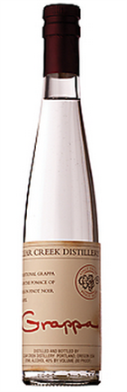 Clear Creek Grappa Oregon Pinot Noir